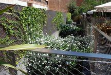 Muros vegetales y paisajismo