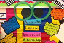 Writing  / This board is for writing lesson ideas, anchor chart examples, and picture prompt. / by Shelby Milford-Haskett