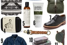 great gifts for him / by PoshLuxeSwish