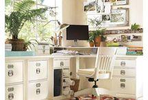 Office ideas / by Kim Carter