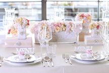 The Wedding trend for 2014 / Damask pattern, glass and pink roses. Inspiration from czech wedding agency!