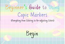 Copic colouring