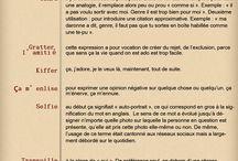 Argots - Français / Gírias em francês