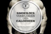 Fitness Quotes / Droog trainen is niet voor iedereen weggelegd! Wilskracht en doorzettingsvermogen zijn belangrijk als je echt droog wilt trainen.