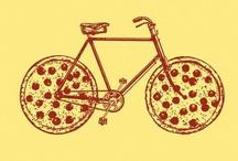 pizza bike / pizzas&bike wheels
