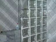 Parede de vidro banheiro