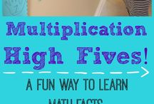 Multiplication Facts Practice Activities and Games / Engaging multiplication strategies and games to promote fact power and fluency.