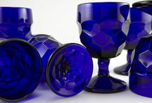 ~ Blue Glass Gorgeousness ~ / Clearly Beautiful / by Holly Nelson Rader