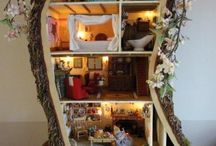 Fairy and doll houses / by Cyndi Bailey