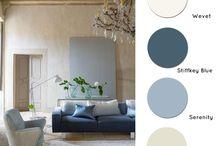 colori salone e camera da letto
