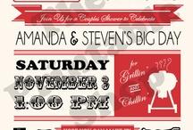 Bridal Shower/Bachelorette Party!!! Co-ed style :) / by Kristen Norfleet