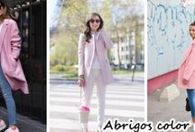 Dale un toque de color rosa a tu look con estos lindos abrigos