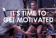 It's time to get motivated! / Share motivation and let's get healthy and fit!