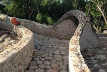 Amazing Walkways / Welcome to French Leave Eleuthera! Our beautiful stone walkways await your sandy toes!