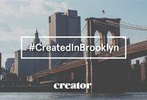 Created In Brooklyn / We're celebrating all things created in Brooklyn in honor of our newest New York location, WeWork Dumbo Heights. Join in using #CreatedInBrooklyn.