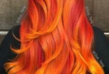 Haare, Frisuren, Farben