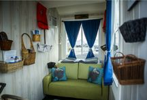 Houseboat saunalautta