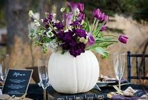 Halloween Weddings / Planning a Halloween themed wedding? We have all the ideas you'll need!
