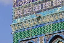 mosque blue