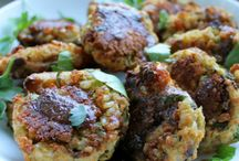 Vegan Burgers/falafels/koftas