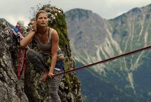Beautiful Slacklining / Our collection of awesome highline pictures from around the internet!