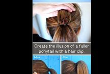 General beauty tips/trends / General tips & tricks on easy beauty and fashion / by Ginger Kilpatrick