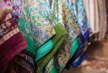 Schals / Seide, Wolle & Kaschmir - hochwertige Rohstoffe aus dem Himalaya in ihrer schönsten Form!
