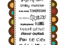 Fabulous Fonts / by Heather B.