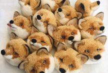 Japanese pompom animals. Must do. Trikotri?