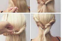 Hairstyles / A lot of Pritty hairstyles for school