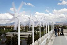 Micro Wind Turbines:  Zefr / Zefr, JLM's micro wind turbine, serves as an additional source of renewable energy for Energizr and Gridz. The seven-blade turbine comes in heights ranging from three to six feet.