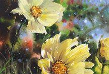Flores em Pinturas