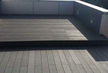Colocación de Tarima Tecnológica en terraza de vivienda
