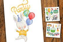 PARTY / Birthday kit