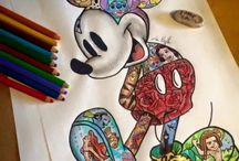 Disney / This is just simply the cutest drawings and pics ever. If you're  into Disney and you enjoy the cutest of things then this is just the right thing for you.