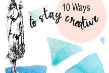 How to stay creative -Tips / How to be more creative, living as an artist, art life. Artists books , art journal , art , watercolour , how to be creative, artists, learn how to draw and paint. Gathering inspiration