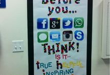 Bulletin board ideas-sarah / by Melody Roussel