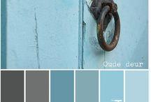 kleurenpalet grijs blauw