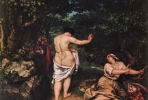 Gustave Courbet select paintings