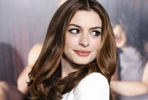Anne Hathaway Style / Fashion and colors for winter season skin color / by Penelope Guzman