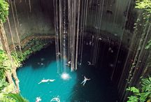 Cenotes in the Yucatan