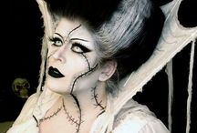 Witch Makeup & FX Contacts / Witch special effects makeup ideas paired with FX contact lenses.