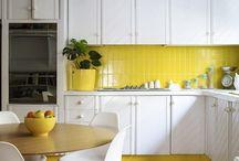 Kitchen Decor -Yellow