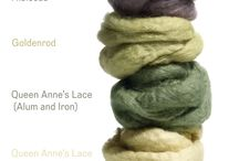 Natural dyes - colors given by nature