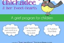 How to help a grieving child / The Healing Chickadee gives children the language of healing