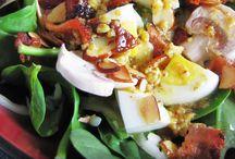 Food- salad/ veggies/ soups / by Devin Denley