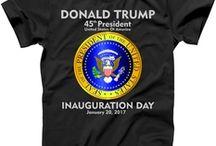 Donald Trump Inauguration T Shirts