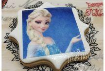 Elsa cookies