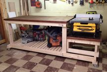 table saw station