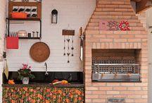 Idéias - Churrasqueiras / Espaços de churrasco e lazer